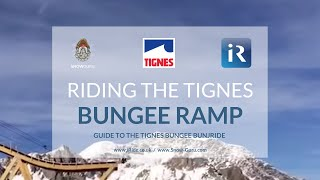Tignes France  City pictures : Bungee snowboard / ski ride in Tignes France