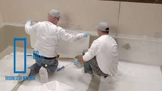 Installing JM PMMA on Wall Flashings