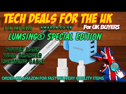 Tech Checker #59 Lumsing® Special Edition 3 Products in One Video