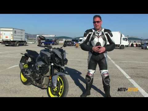 Yamaha MT-10 test ride Moto in Action