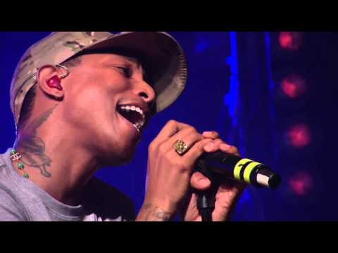 Watch Pharrell Perform Daft Punk's 