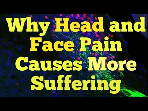 Why Head and Face Pain Causes More Suffering