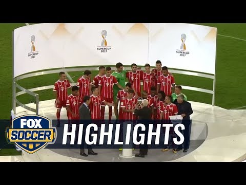 Borussia Dortmund vs. Bayern Munich | 2017 German Super Cup Highlights