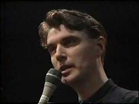 Art - David Byrne & Robert Wilson: The Knee Plays (1988)