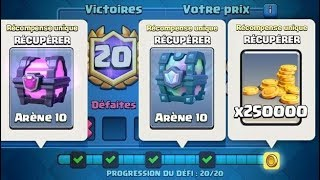 Video Clash Royale / ON OUVRE TOUS LES COFFRES DU DEFI CROWN CHAMPIONSHIP MP3, 3GP, MP4, WEBM, AVI, FLV Agustus 2017