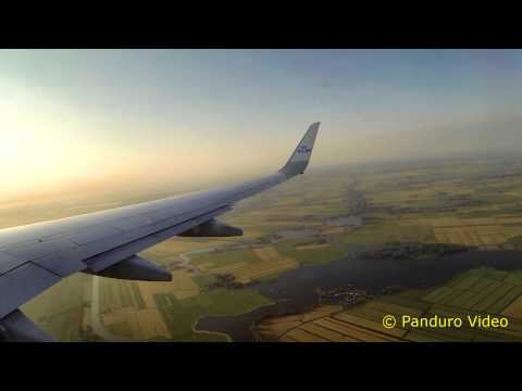 1340 - Flight from Billund to Amsterdam Flight No KL 1340 EKBI EHAM) Beoing 737-700.