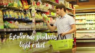 Escolhendo produtos light e diet