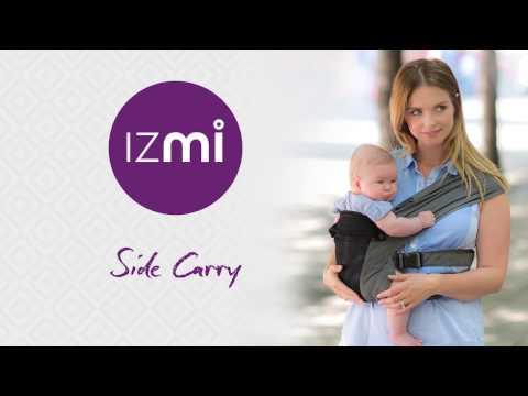 How to fit your Izmi Baby-Carrier in the Side Carry position