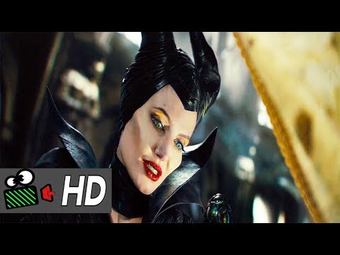 Cursing The Child Scene||Maleficent (2014)--MR.CLIPPER