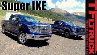 2016 Nissan Titan XD Gas V8 vs Diesel V8 vs Super Ike Gauntlet Review: Battle of the Titans by The Fast Lane Truck