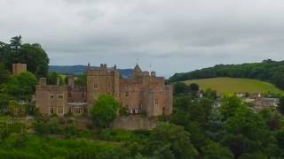 Dunster United Kingdom  City pictures : Drone footage of Dunster Castle - Somerset, UK