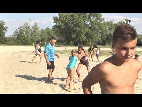 В Энергодаре прошел открытый чемпионат по пляжной борьбе