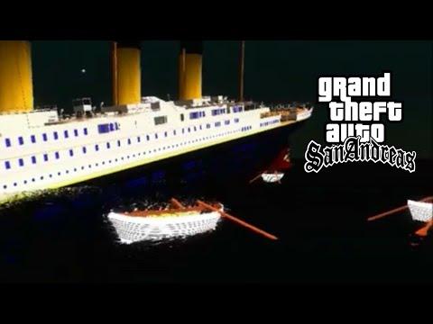 GTA SA TITANIC SINKING AND FLOODING  (UPDATED)