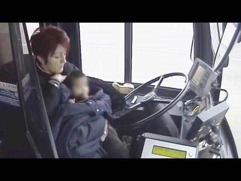 Wisconsin Bus Driver Rescues Boy Running Down Sidewalk Alone