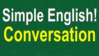 simple english conversation  learn english speaking easily quickly