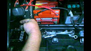 9. Polaris Ranger dual battery setup with separator