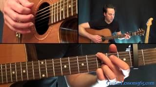 Wonderwall Guitar Lesson - Oasis