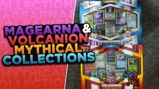 Pokemon Cards - Opening BOTH New Mythical Collection Boxes featuring Magearna & Volcanion by ThePokeCapital