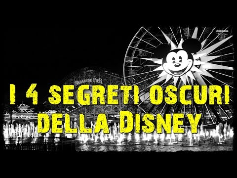 i 4 segreti oscuri della disney: video shock!