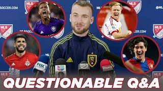 From Chips to Rips: Players Reveal Their Favorite Goals | Questionable Soccer Q&A by Major League Soccer