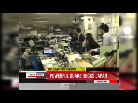 YouTube Video - Terremoto 8.9 e tsunami in Giappone (Euronews)