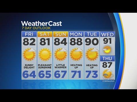 8/24 CBS2 Morning Forecast