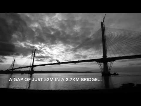 Gaps close on the Queensferry Crossing