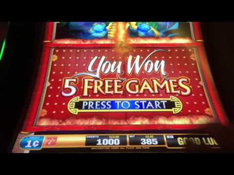 Dragon Rising Slot Win @ Chumash Casino & Resort