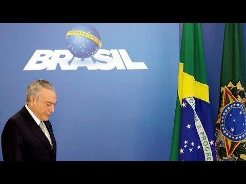 Βραζιλία: Καταγγελίες για εμπλοκή και του υπηρεσιακού προέδρου στο σκάνδαλο διαφθοράς
