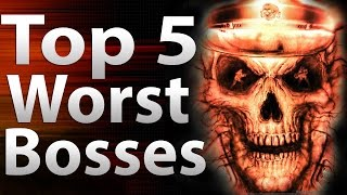 TOP 5 Worst Bosses in 'Call of Duty Zombies' - Black Ops 2 Zombies, Black Ops & World at War