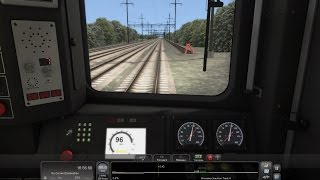 Train Simulator 2016 HD: NJ Transit NEC Line Train 3857 Comet V Cab Ride (NYP-Trenton) Timelapse 4x