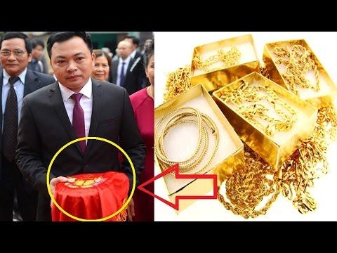 Choáng khi nhìn thấy lễ vật bên trong  tráp ăn hỏi của Hoa hậu Thu Ngân