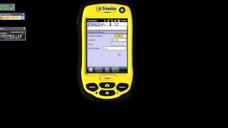 Trimble Terrasync Basic Setup