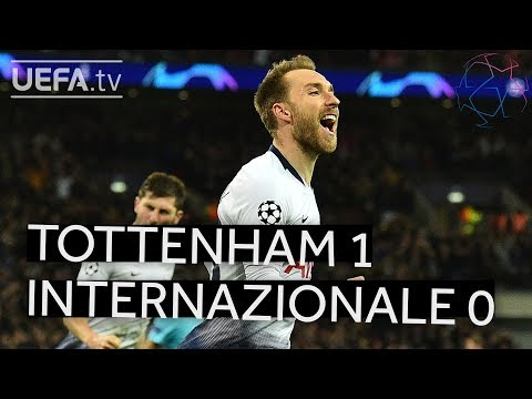 TOTTENHAM 1-0 INTERNAZIONALE #UCL HIGHLIGHTS