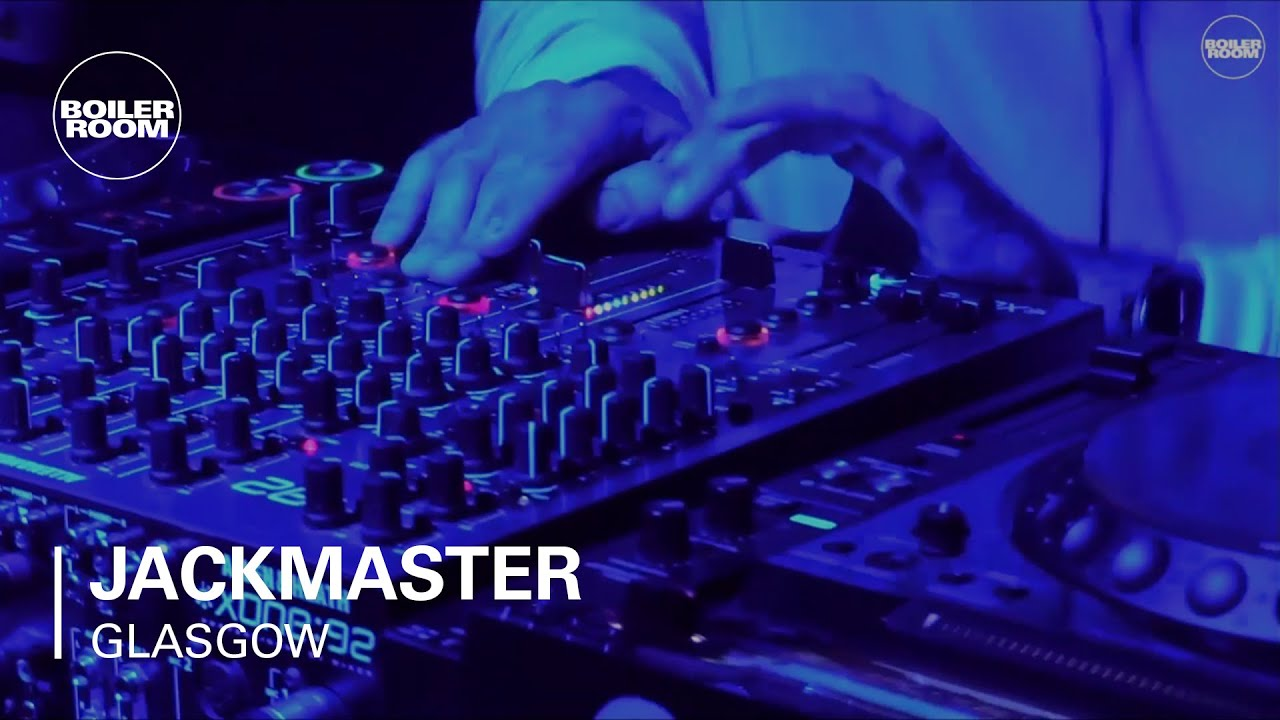 Jackmaster - Live @ Boiler Room Glasgow 2016