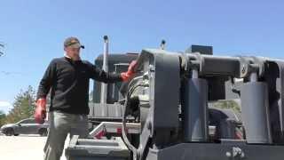 Orillia (ON) Canada  city photos gallery : HEAVY HAUL TV: Unloading CAT 950M in Orillia ON, Canada