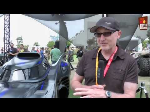 Batmobile Featurette von der Comic-Con - The Dark Knight Rises (2012)