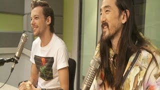Louis Tomlinson and Steve Aoki Talk Just Hold On, Meeting in Vegas, and More