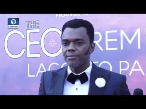 Kunle Afolayan's Movie 'The CEO' In-Flight Movie Premiere