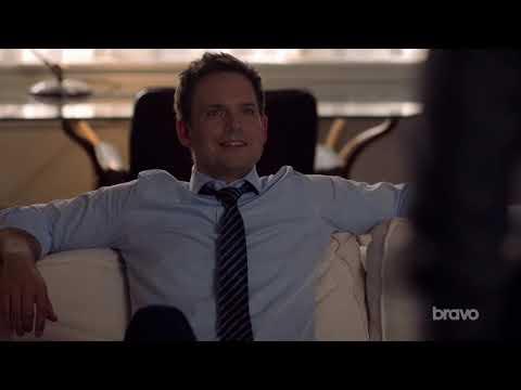 Suits S9 E05 - Mike wins against Harvey