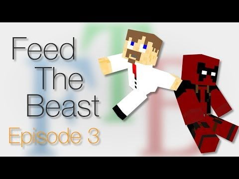 """Feed The Beast #3: """"Why Won't this Quarry Work?"""""""