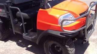 4. 2012 Kubota RTV900 Diesel Wheel Kinetics
