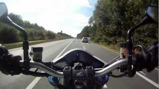 8. CB 1000 R 0-100 0-200 kmh Acceleration-Test (GoPro HD)