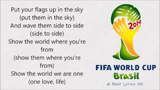 Video Pitbull - We Are One (Ole Ola) LYRICS [The Official 2014 FIFA World Cup Song] MP3, 3GP, MP4, WEBM, AVI, FLV Maret 2018