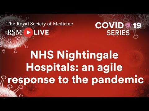 RSM COVID-19 Series | Episode 8: NHS Nightingale Hospitals with Professor Charles Knight