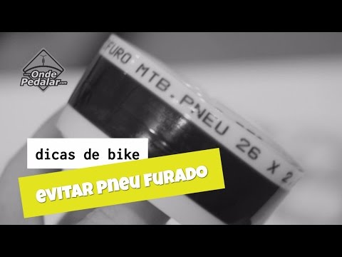 Maneiras de evitar ter o pneu da bike furado
