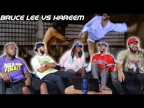 Bruce Lee vs Kareem Abdul Jabbar - Game of Death Fight Scene Reaction/Review