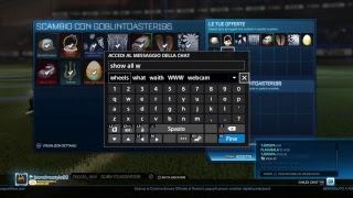Rocket league trade e 3v3