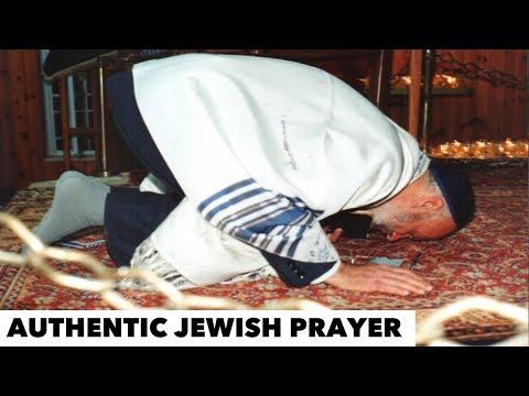 AUTHENTIC JEWISH PRAYER   JEWISH FORM OF WORSHIP   ABRAHAMIC PRAYER