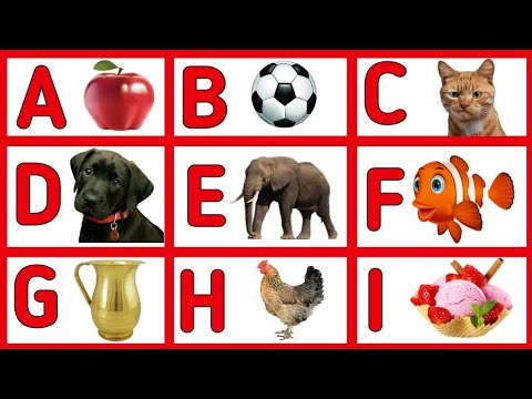 A for Apple, B for Ball, Abc Phonics Songs, Alphabets, Alphabet Songs, Abc Songs, English Alphabets